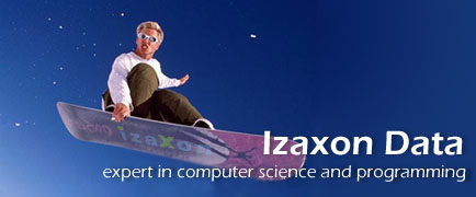 Izaxon Data - expert in computer science and programming